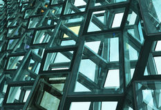 Harpa Concert Hall - Islândia imagens de stock royalty free