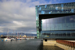 Harpa Concert Hall Stock Image