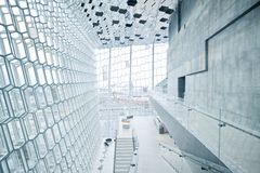 Harpa concert hall in Reykjavik, Iceland Stock Photos