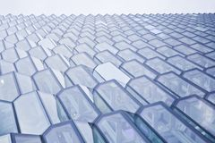 Harpa concert hall in Reykjavik, Iceland. Exterior of the Harpa concert hall in Reykjavik, Iceland Stock Image