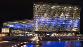 Harpa, Concert hall. Harpa Concert hall in Reykjavik, Iceland stock photography