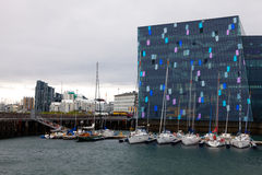 Harpa Concert Hall Royalty Free Stock Image