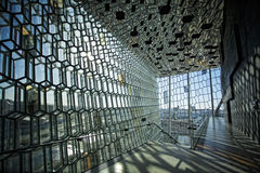 Harpa concert Hall Royalty Free Stock Photos