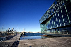 Harpa concert Hall Stock Photo