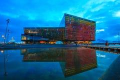 Harpa Concert Hall in Reykjavik, Iceland Stock Images