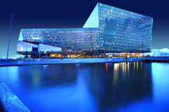 Harpa Concert Hall, Reykjavik, Islandia Fotografía de archivo