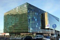 Harpa concert hall Reykjavik. Stock Image