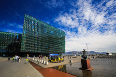 Harpa concert hall Stock Images