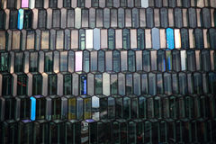 Harpa Cube Glass, Reykjavik, Islanda Fotografie Stock Libere da Diritti