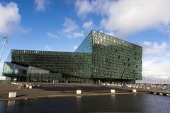 Harpa Hall, Rekjavik, Исландия Стоковое Фото