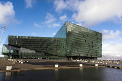 Harpa Hall, Rekjavik, Iceland Zdjęcie Stock