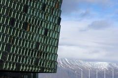 Harpa Hall, Rekjavik, Iceland Royalty Free Stock Photo
