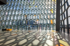 Harpa interior Stock Image