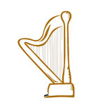 harpe Images libres de droits