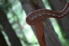Harpe celtique photographie stock