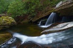 Harper Creek Falls Arkivbild