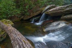 Harper Creek Falls Fotografering för Bildbyråer