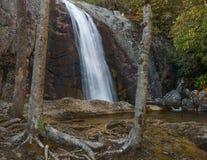 Harper Creek Falls.  Royalty Free Stock Image