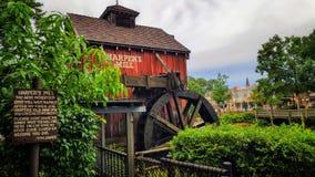 Harper-` s Mühle auf Tom Sawyer Island stockbilder