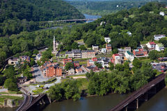 Harpers-Fähre West Virginia stockbild