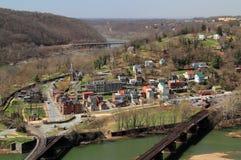 Harpers-Fähren-Landschaft lizenzfreie stockfotografie