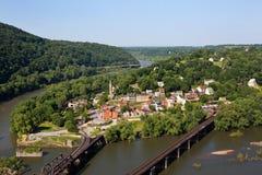 Harpers-Fähren-nationaler historischer Park Stockfoto