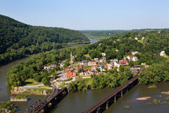 Harpers Ferry National Historical Park Stock Photo