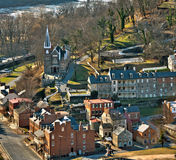 Harpers Ferry Overlook close up Stock Image