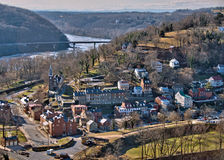 Harpers Ferry Overlook Royalty Free Stock Images