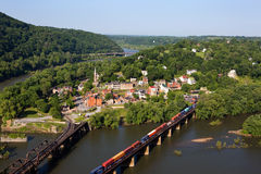 Harpers Ferry West Virginia Stock Image