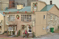 Harpers Ferry, WV Shops Royalty Free Stock Photo