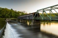 Harpersfield most zdjęcie stock