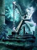 Harpist Stock Photos