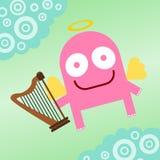 Harpist van hemel Stock Afbeeldingen