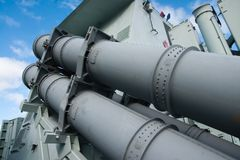 Harpoon missiles Royalty Free Stock Images