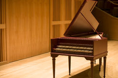 Harpsichord royalty free stock image