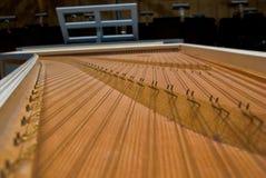 Harpsichord Guts Stock Image