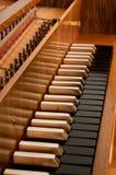 Harpsichord Keyboard Royalty Free Stock Photos
