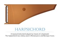 Harpsichord Royalty Free Stock Image