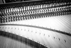 Harpsichord vintage style Royalty Free Stock Photo
