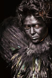 Harpy - créature mystique images stock