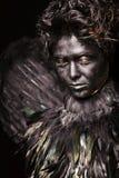 Harpy - criatura mística imagenes de archivo