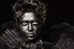 Harpy - criatura mística Fotos de archivo