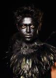 Harpy makeup zdjęcia royalty free