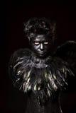 Harpy makeup obrazy stock