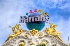 Harrah&#x27 ξενοδοχείο και χαρτοπαικτική λέσχη του s Λας Βέγκας Στοκ φωτογραφία με δικαίωμα ελεύθερης χρήσης