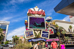 Harrah's Hotel and Casino, Las Vegas Stock Photos
