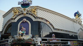 Harrah's Hotel and Casino in Las Vegas Royalty Free Stock Photography