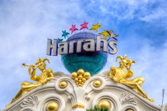 Harrah's Las Vegas Hotel and Casino Royalty Free Stock Photography