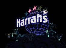 Harrahs在拉斯维加斯 免版税库存照片